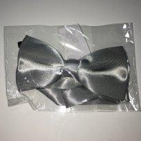 Gravata Borboleta - Prata - Sem faixa etaria - Importada