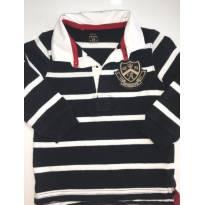 Camisa Polo Listrada da Carter's, linda! - 2 anos - Carter`s