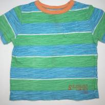 Camiseta Listrada Color da GAP - 12 a 18 meses - GAP