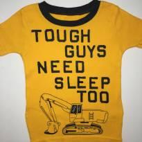 Camiseta Amarela da Carter's - 12 a 18 meses - Carter`s