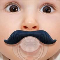 Chupeta divertida de Bigode - Mustache ( > 6 meses)