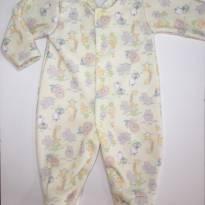 Macacão em Fleece/Soft Safari - Alô Bebê - Recém Nascido - Alô bebê