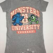 Macaquinho de Verão - Monstros SA - 0 a 3 meses - Disney