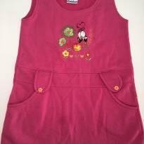 Vestido em Moletom Pink - 3 anos - Carinhoso