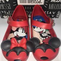 Mini Melissa Ultragirl Minie & Mickey - Vermelha - 22 - Melissa