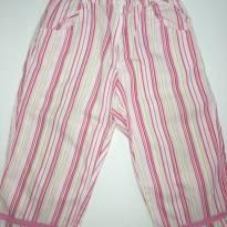 Calça Listrada em tons Pink - 1 ano - Tyrol