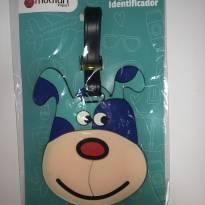 Tag Identificador de Bagagem (mala ou mochila) - Cachorro! -  - Multiart