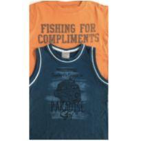 Kit c/2 Camisetas - 2 anos - Baby Gap e Carinhoso