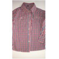 Camisa Xadrez - 3 anos - Conexão