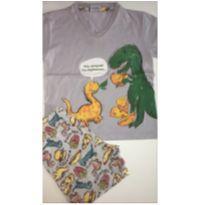 Pijama Dinossauro - 3 anos - Fakini