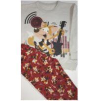 Pijama de Inverno - 4 anos - Malwee