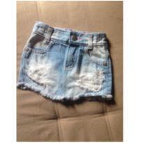 Saia jeans baby - 9 a 12 meses - Baby Way