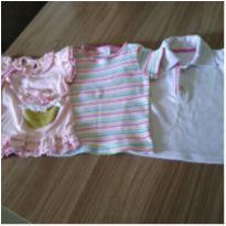 Blusinhas verão - 1 ano - Milly Baby e Teddy Boom