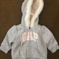 Moletom Gap - 3 a 6 meses - Baby Gap e Gap/ Green/ Noruega