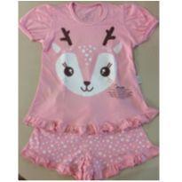 Pijama brilhando no escuro - 6 anos - Cara de Criança