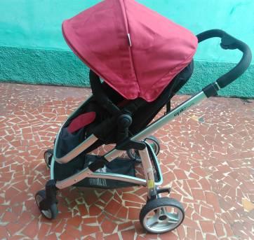Carrinho + bebê conforto + base para veículo - Sem faixa etaria - Infanti
