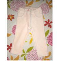 Calça veludo Benetton Baby - 9 a 12 meses - Benetton Baby