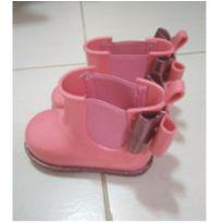 Galocha rosa glitter laço - 19 - Zaxy