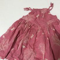 Vestido Coelhinhos Baby Gap - 9 a 12 meses - Baby Gap