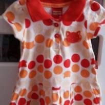 Vestido de bolas coloridas - 3 meses - Kyly