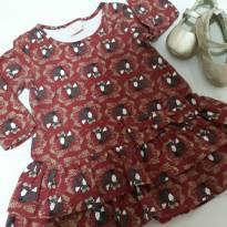 Vestido Rapozinha - 6 a 9 meses - Açucena