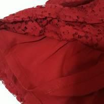 Vestido Renda vermelho Zara - 12 a 18 meses - Zara Baby