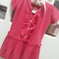Vestido fresquinho Rosa - 9 a 12 meses - Zup Zup