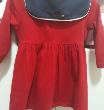 Vestido vermelho Tommy Hilfiger - 1 ano - Tommy Hilfiger