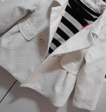 Casaco sofisticado Branco Zara - 12 a 18 meses - Zara