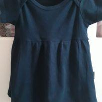 Vestido conforto BB básico - 12 a 18 meses - BB Básico
