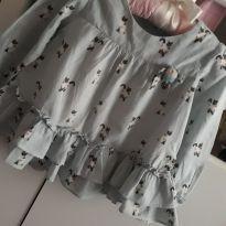 Bata/ camisa Gatinho 1+1 - 12 a 18 meses - 1+1