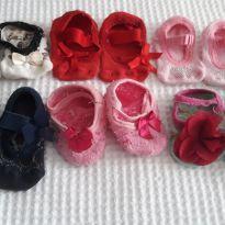 6 sapatinhas confortável -  - Variadas