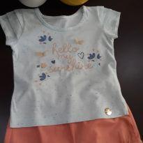 Conjunto shorts e camiseta verão - 1 ano - Brandili e várias