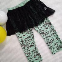 Calça Legging Moderninha - 12 a 18 meses - Não informada