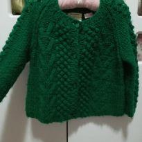 Tricô/ Blusa Verde Zara - 18 a 24 meses - Zara