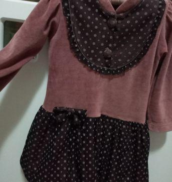 Vestido  Balonê em Plush - 3 anos - Upi Uli