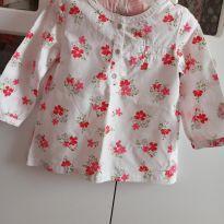 Camisa flores Carter`s - 18 a 24 meses - Carter`s