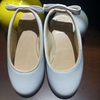 Sapato/ sapatilha Princesa Branco - 24 - Baby Club