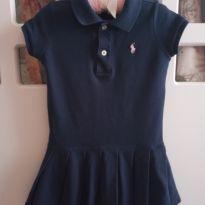 Vestido Ralph Lauren Azul - 2 anos - Ralph Lauren