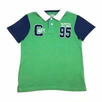 Camiseta Polo Verde OshKosh B`Gosh - 4 anos - OshKosh