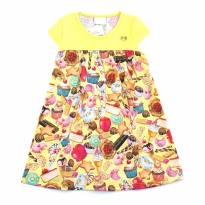 Vestido Amarelo Kaiani - 1 ano - KAIANI