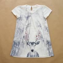 Vestido Off-white Zara