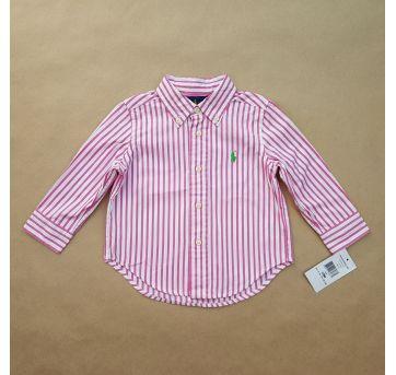 Camisa Listrada Ralph Lauren - 1 ano - Ralph Lauren