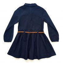 Vestido Azul Marinho Milon