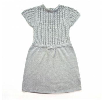 Vestido Em Lã Cinza Renner