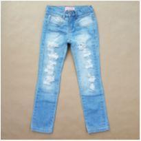 Calça Jeans Pituchinhu`s - 6 anos - Pituchinhus