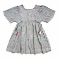 Vestido Cinza Zara - 6 anos - Zara