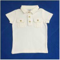 Camisa Polo Lisa Bege GAP - 1 ano - GAP