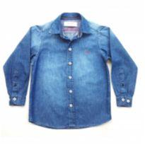 Camisa Jeans Ogochi - 4 anos - Ogochi