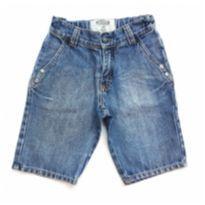 Bermuda Jeans Alphabeto - 4 anos - Alphabeto